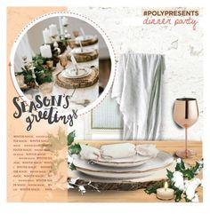 """#PolyPresents: Dinner Party"" by anishabgv ❤ liked on Polyvore featuring interior, interiors, interior design, home, home decor, interior decorating, Ballard Designs, Suki Cheema, Pier 1 Imports and contestentry"