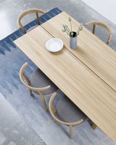 Skovby SM105 Plank table. #Skovbyfurniture #danishdesign #madeindenmark #diningtable #Scandinavian #interior #scandinavianinterior #nordicinterior