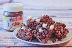 Nutella Rocky Road Rice Krispy Treats