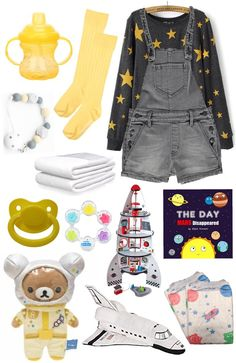 Trans little space outfits Space Themed Little Space Outfit Kawaii Fashion, Cute Fashion, Fashion Outfits, Little Boy Outfits, Cool Outfits, Ddlg Outfits, Space Outfit, Barbie, Themed Outfits