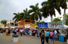 The Delray Affair takes over Atlantic Avenue for 3 days! With lots of food booths, art booths, fun and so much more!