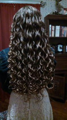 Pin By Karen Schmidt On Hair In 2019 Spiral Perm Long Hair Hair