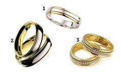 Aliança de casamento: confira a seleção de modelos para noivos de todos os estilos - Família - MdeMulher - Ed. Abril