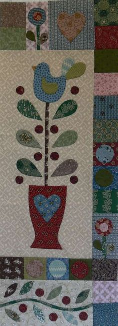 Berries & Bluebirds BOM complete set - by Gail Pan DesignsSECONDARY_SECTION$129.00: Fabric Patch: Patchwork Quilting fabrics, Moda fabric, Q...