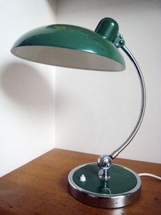 Kaiser Idell 6631 desk lamp. Christian Dell design 1934. Bauhaus.