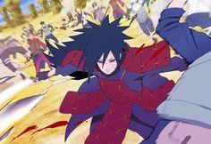 madara uchiha #naruto #anime