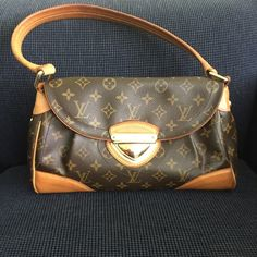 """Authentic"" LV Beverly MM Used excellent condition                                     "".      Reasonable Offers being Accepted"". Lower on ♏️ Louis Vuitton Bags Shoulder Bags"