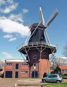 Flour and grinding mill De Leeuw, Oldehove, the Netherlands