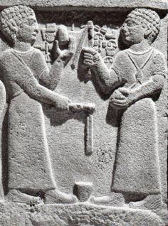 Hittite,children playing king Araras , Kargamış, Museum of Anatolian Civilization (Kurt Bittel) (Erdinç Bakla archive)