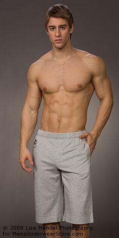Luke Guldan by Lisa Mandel for Men's Underwear Store (2009) #LukeGuldan #LisaMandel #MensUnderwearStore #underwear #briefs #muscles #bodybuilding #malemodel #model #fitnessmodel #fitness #Wilhelmina #WilhelminaModel #diesel #abs #pecs #chest