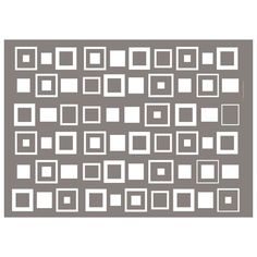 Lifestyle Crafts : EMBOSSING FOLDER : Retro Squares