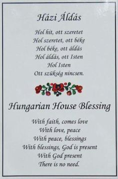 Hungarian Tattoo, Hungarian Embroidery, Hungary Food, Culture Day, House Blessing, Family Roots, Hungarian Recipes, My Roots, Faith Hope Love