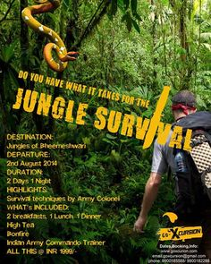 Survive the jungle of bheemeshwari