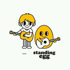 K-indie .. Standing Egg