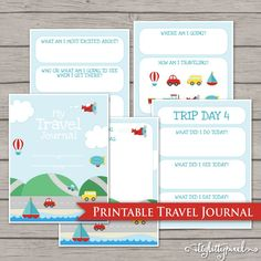 Road Trip Journal