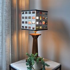 This detailed tutorial will show you how to make an awesome lampshade using 35mm slides! (via Red House West)