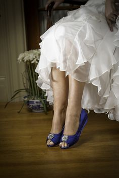 "Bridal Shoes Available at Ella Park Bridal | Newburgh, IN | 812.853.1800 | Patience - 1"" wedge, dyeable"