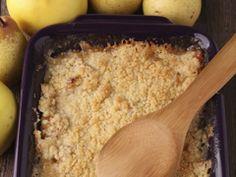 Crumble poire chocolat : Sucré ou salé : 12 délicieuses recettes de crumble | Planet.fr Femmes