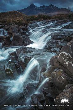 Allt Dearg Mor & The Cuillin, near Sligachan, Isle of Skye, Scotland.