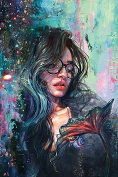 Limbo Canvas Wall Art By Tanya Shatseva Limbo By Tanya Shatseva Is Printed With Premium Inks For Brilliant Color And Then Hand Stretched Over Museum Quality Stretcher Bars 60 Day Money Back Guarantee And Free Return Shipping Fantasy Kunst, Fantasy Art, L'art Du Portrait, Surrealism Painting, Painting Art, Painting Tips, Painting Of Girl, Creation Art, Art And Illustration