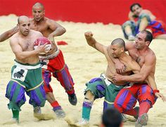 Calcio Storico or traditional football played in costume, in Florence, Italy, dates back to the 15th century. Woven with Italian brain, brawn and passion, the Calcio Storico was played by the aristocratic young noble men in front of the Basilica of Santa Croce and some times in the areas of Via Il Prato, Piazza della Signoria or Piazza Santa Maria Novella in celebration of the Feast of St. John. Held every year on June 24th, the awesome pageant of the Calcio Storico takes you to its ancient…