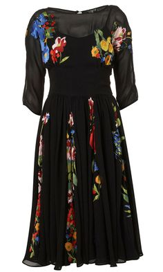 Topshop Embroidered Dress, £95