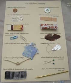 Hier habe ich ein originelles Geldgeschenk für Männer gebastelt. Man kann es auch super für einen runden Geburtstag verwenden. Es macht sich auch gut in einem schönen Rahmen oder auf einen...: