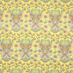 Tula Pink - Moon Shine Collection - Dear Me in Dandelion by Bobbie Lou's Fabric Factory