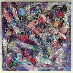 "G.A.Zanussi, ""life is... a big mess"", arte contemporanea quadro 65 x 65, opera su tela, 2017"