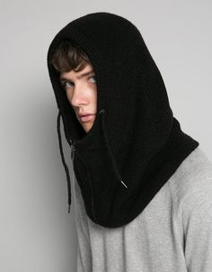 Discover the lastest trends in fashion in Bershka. Buy online shirts, dresses, jeans, shoes and much more. 1950s Jacket Mens, Balaclava, Knitted Hats, Fashion Online, Knit Crochet, Winter Hats, Couture, Knitting, Womens Fashion