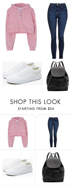 """""""casual day"""" by krandomstyle on Polyvore featuring Topshop, Vans and Witchery"""