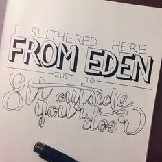 From Eden- Hozier