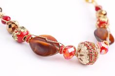 Wire Wrap and Roll Necklace and Earring Set with Candie Cooper, teaching for Jesse James Beads