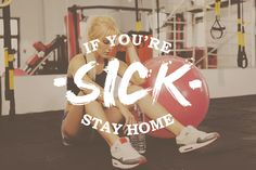 If you're going to get some exercise in while you're battling a cold, you should opt for an at-home workout