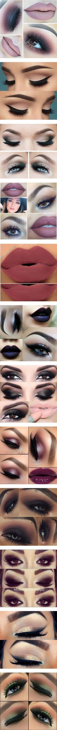 Makeup Part 2 by belabmilagres on Polyvore featuring beauty products, makeup, lips, beauty, eyes, eye makeup, eyeliner, make, lumiere makeup and lumiere cosmetics