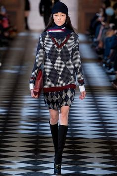 Golfing Argyle - Tommy Hilfiger | Fall 2013 Ready-to-Wear Collection | Style.com