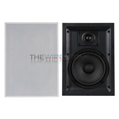 """DLS IW 2.6 2-Way 4 Ohm 6.5"""" 90W In Wall Hi-Fi Home Theater Speaker System (pair) #DLSAudio Home Theater Speaker System, In Wall Speakers, 2 Way"""