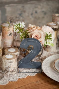Love the table number idea