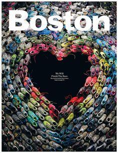 Superbe couv du dernier numéro du Boston magazine à propos du marathon