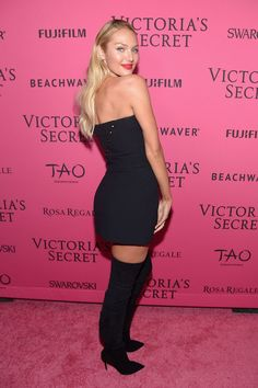 Pin for Later: All the Must-See Action From the 2015 Victoria's Secret Fashion Show  Pictured: Candice Swanepoel