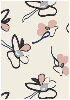 Estampados y gráficos de mujeres O/I 17/18: Florales personalizados - Diseños integrales #WGSN #Prints