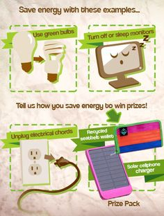 We asked our Sweetys to share their energy saving ideas for a chance to win an eco prize bundle. Stay tuned to see who won!