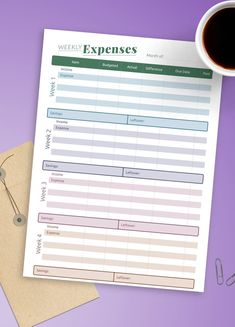 Whether you need to see the whole year at a glance or plan your month in detail, this Monthly Bill Budget perfectly suits your needs. Use it to help you to focus all of your money expenses in one place, discovering your true cost of living. You can choose paper size: A4, A5, Letter or Half Letter. #monthly #budget #tracker #expense #expenses Monthly Budget Printable, Monthly Budget Planner, Monthly Expenses, Printable Planner, Bill Organization, Family Budget, Bullet Journal Ideas Pages, Planner Template, As You Like