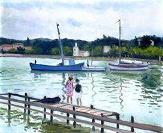 Pierre-Albert Marquet (1875-1947) Children at Porquerolles