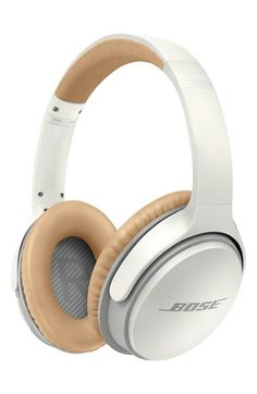 Free shipping and returns on Bose® SoundLink® II Around-Ear Wireless Headphones at Nordstrom.com. A proprietary TriPort® acoustic structure and Active EQ technology produce exceptionally balanced sound in around-ear headphones for a superb listening experience, with full lows and clear highs. They use Bluetooth connectivity to interface with your devices, meaning you won't be tied down by wires, and the rechargeable lithium ion battery will last up to 15 hours, so you can go all day on a…