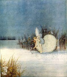 Illustration by Australian artist Ida Rentoul Outhwaite