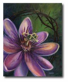 """""""The Passion Flower"""" by Cherish Flieder"""