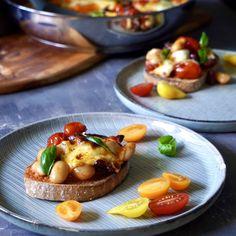French Toast, Baked Potato, Potatoes, Mozzarella, Breakfast, Baking, Ethnic Recipes, Treats, Food