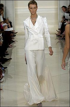 Dana 39 s wedding on pinterest pant suits bridal and suits for Wedding dresses for tomboy brides