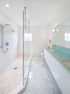 long narrow bathroom sinks long narrow bathroom sinks the bathroom ideas long narrow modern bathroom ideas. Bathroom Design Layout, Modern Bathroom Design, Bathroom Interior Design, Bathroom Designs, Bathroom Ideas, Bath Ideas, Bath Design, Interior Ideas, Long Narrow Bathroom